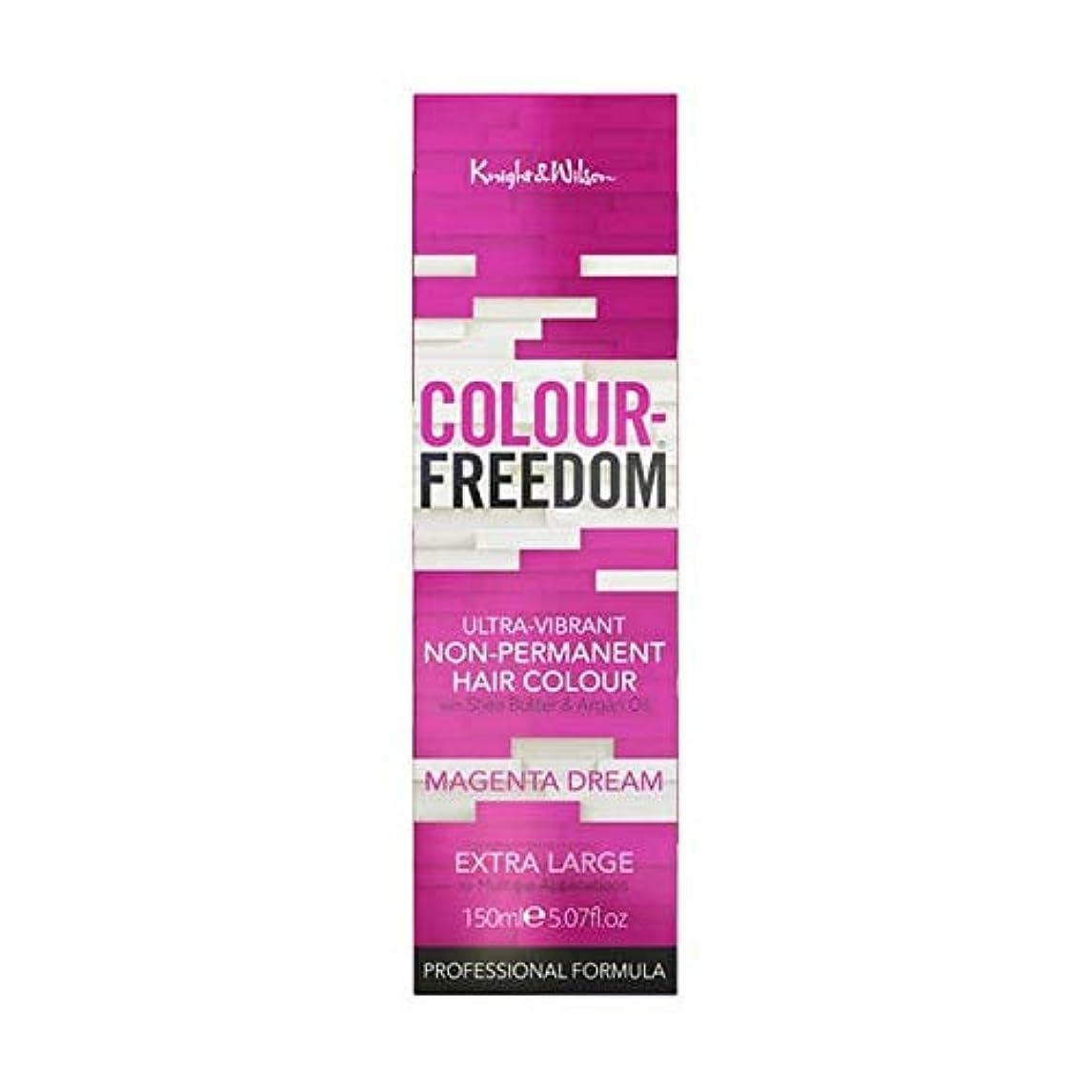 硬さ銛毎日[Colour Freedom ] カラー自由マゼンタ夢067 - Colour Freedom Magenta Dream 067 [並行輸入品]