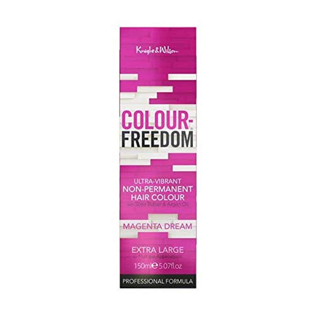 占める全くわかりやすい[Colour Freedom ] カラー自由マゼンタ夢067 - Colour Freedom Magenta Dream 067 [並行輸入品]