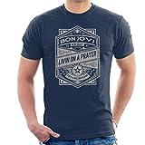 Bon Jovi Livin On A Prayer Live 83 Men's T-Shirt