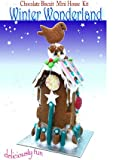 Winter Wonderland Mini Casa galleta de Chocolate Kit