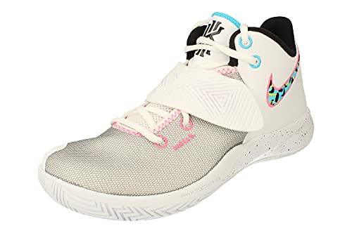 Nike Kyrie Flytrap III Hombre Basketball Trainers BQ3060 Sneakers Zapatos (UK 10.5 US 11.5 EU 45.5, White Black Blue Fury 104)