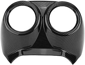 Qiilu Car Air Conditioner Vent Outlet Trim Car Interior Rear Row Seat Car Accessories for Alfa Romeo Stelvio