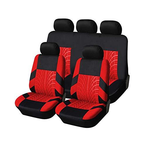 Sitzschoner Auto Autositzauflage Perlen Auto Sitz Abdeckung Beheizte Sitze Für Auto Wasserdicht Auto Seat Protector Leder Auto Sitz Abdeckung Red,One Size