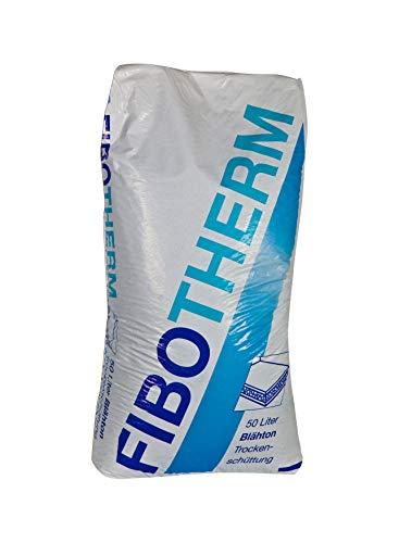 FiboTherm Trockenschüttung 4?8 mm Estrichschüttung 50 Liter Fibo Therm Schüttung Bodenausgleichsmasse Ausgleichsmasse Estrich
