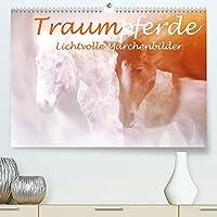 Traumpferde. Lichtvolle Maerchenbilder (Premium, hochwertiger DIN A2 Wandkalender 2022, Kunstdruck in Hochglanz): Romantische Bildbearbeitung von Pferdeportraits (Monatskalender, 14 Seiten )