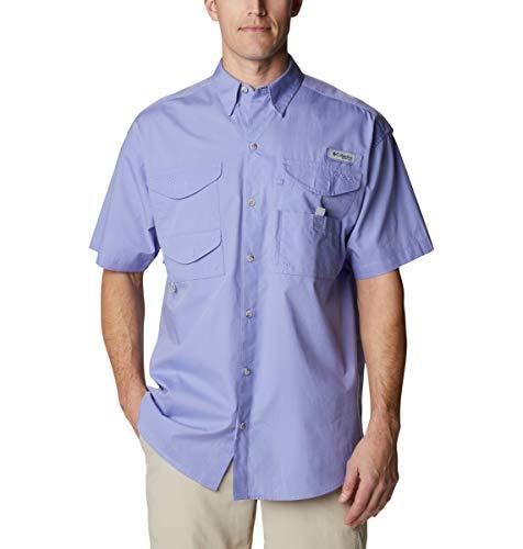 Columbia Camisa de Manga Corta para Hombre Bonehead, Hombre, Bonehead Camisa de Manga Corta, 101177, Cuento de Hadas, 3XL (Alto)