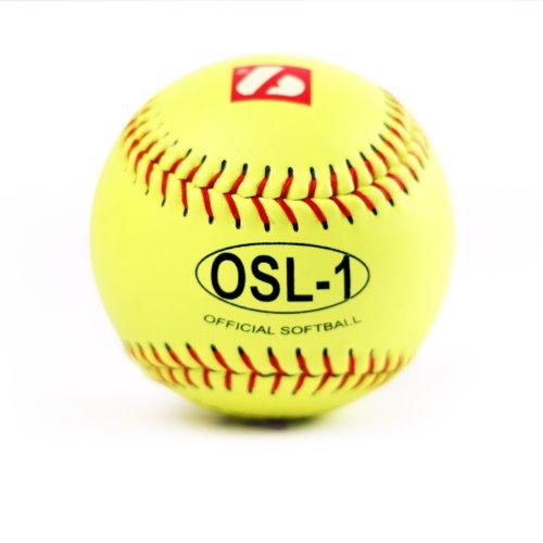 barnett OSL-1 pelota de competición sófbol, t 12'', color amarillo, 12 piezas 🔥