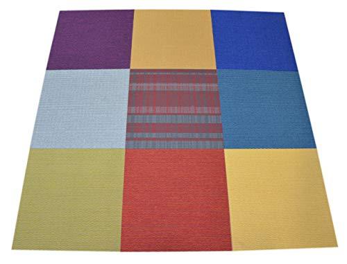 Commercial Carpet Tile - Random Assorted Colors - 60 SF