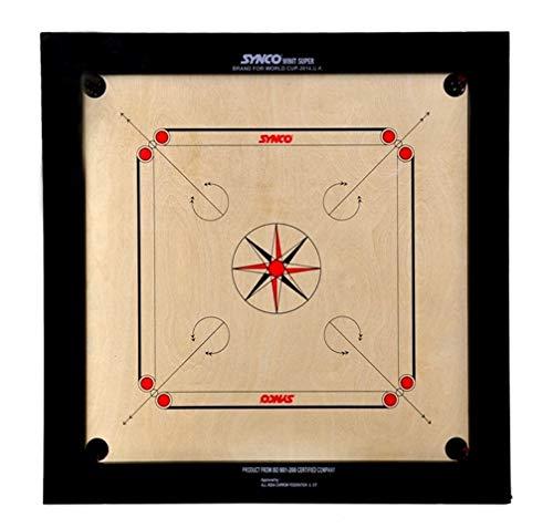 Synco SyncoâWinit Super Carrom Board, 8Mm,Multicolor