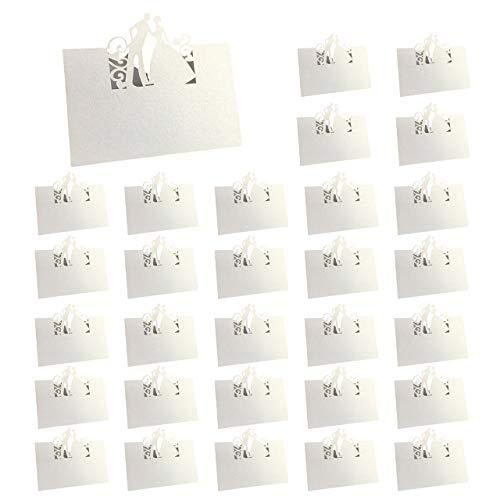 フェリモア 席札 ネームカード 座席カード メッセージカード 結婚式 披露宴の演出に 100枚セット