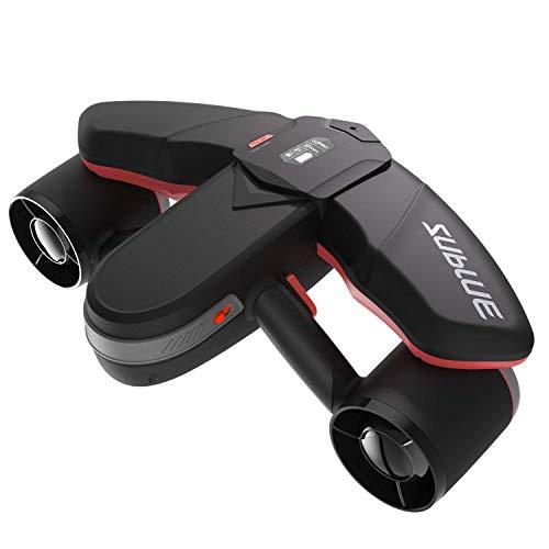 WINDEK Sublue Navbow Intelligenter Unterwasser Scooter mit Action-Kamera Montieren OLED-Anzeige 40M Wasserdicht Elektroroller für Wassersportarten Tauchen & Schnorcheln & Seeabenteuer