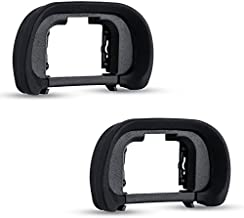 (2-Pack) JJC FDA-EP18 Eyecup Eyepiece for Sony Alpha A7/A7 II/A7 III/A7R/A7R II/A7R III/A7S/A7S II/A9/A99 II/A58 and More Sony Cameras,Replaces Sony FDA-EP18 Eyecup
