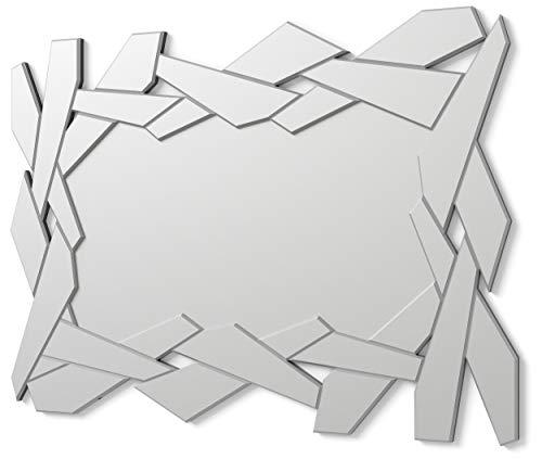 DekoArte E029 - Specchi Decorativi Moderni di Pareti | Specchi Decorazione per Il Tuo...