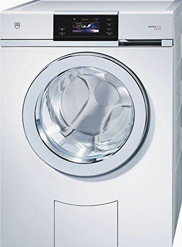 V-ZUG: Waschmaschine Adora SLQ, WAASLQlc, Design ChromeClass, links