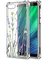 Oihxse Cristal Compatible con Samsung Galaxy S20 Funda Transparente TPU Silicona Estuche Airbag Esquinas Anti-Choque Anti Rasguños Diseño Rosa Flower Caso (Flores A8)