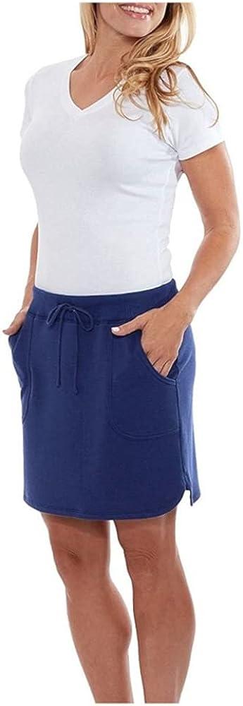 The Balance Collection Women's Weekend Skirt (XXL, Bluebell)