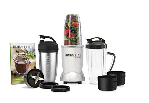 NutriBullet 1000 Watt PRIME Edition 12Piece HighSpeed Blender/Mixer System Includes Stainless Steel Insulated Cup and Recipe Book