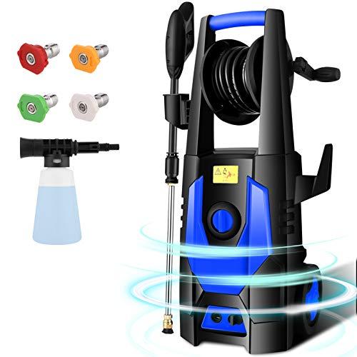 CHAKOR Pressure Washer 3600 PSI, 2.4GPM Power Washer Machine, 1800W High Pressure Cleaner with 4...