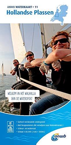 Hollandse Plassen 1:50 000 Waterkaart: Waterkaarten (ANWB waterkaart (11))