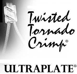 Twisted Tornado Crimp 24kt. Gold ULTRAPLATE .019 3mm (Pk 50)