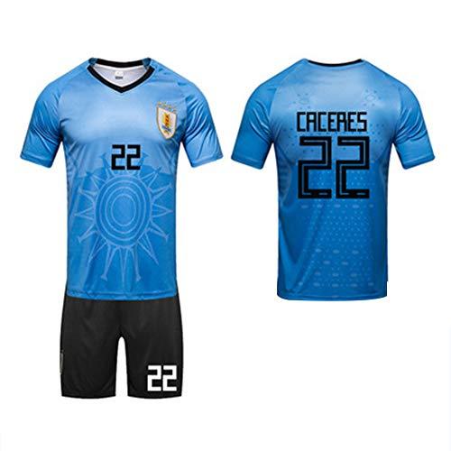 Maglie squadra Mondiali 2018 forte Uruguay Suarez Cavani 2018 (L-3XL)-19-XXXL