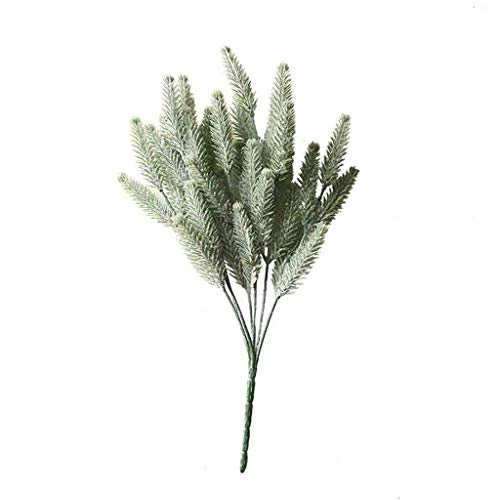Artificial Fake Silk Eucalyptus Green Plant Flowers Wedding Home Garden Decor
