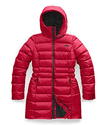 The North Face Women's Gotham Parka II, TNF Red, L by The North Face