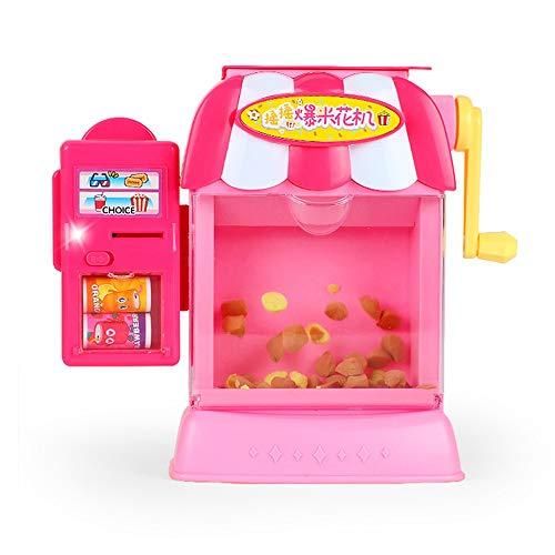 Lihgfw Infantil Juguete Casa Simulación Palomitas máquina se Puede Utilizar Regalos de los niños como los niños Mayores de 3 años Puede Jugar de Navidad, Regalos de cumpleaños (Color : Rosado)