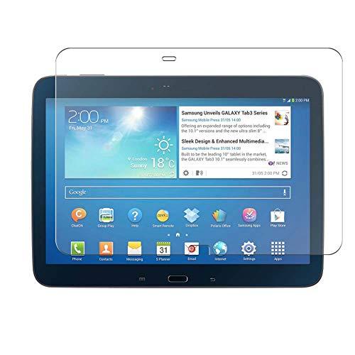 Vaxson 4 Unidades Protector de Pantalla, compatible con Samsung Galaxy Tab 3 10.1' P5200 p5210 [No Vidrio Templado] TPU Película Protectora