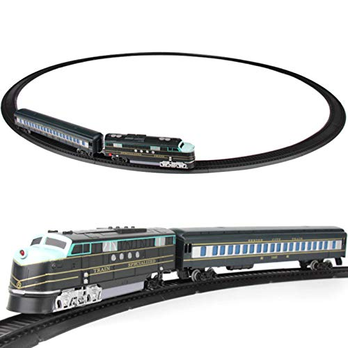 raspbery Baukasten für elektrische Personenzüge ? Elektro-Schienenwagen Kleiner Zug Elektrischer Schienenwagen Kleine Zugschiene Spielzeugset ? Super Long Model serviceable