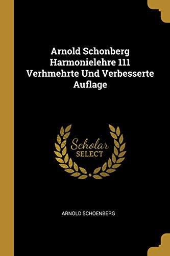 GER-ARNOLD SCHONBERG HARMONIEL