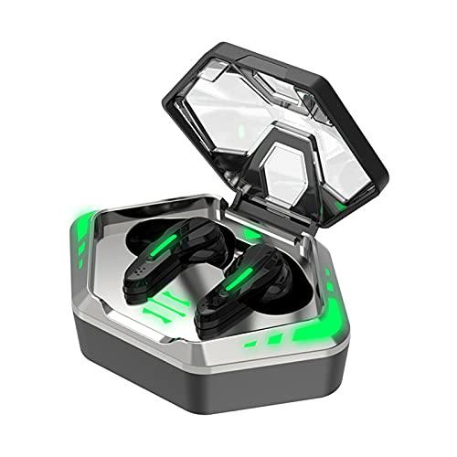 GXYGXY Auriculares inalámbricos Bluetooth M128, Auriculares inalámbricos para Juegos competitivos, Auriculares Bluetooth 5.2 con, Auriculares inalámbricos para Juegos con micrófono con reducción