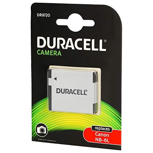 CELLONIC 2X Batterie Compatible avec Canon PowerShot SX530 SX500 is SX510 HS SX520 HS SX540 HS SX260 HS SX170 is SX610 HS SX710 HS S120 PowerShot D30 IXUS 105 NB-6L NB-6LH Accu Rechange Remplacement