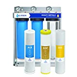 Express Water Heavy Metal Whole House Water Filter – 3 Stage Home...