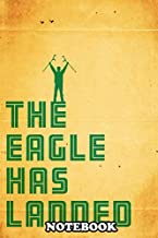 Notebook: Eddie The Eagle Movie Poster , Journal for Writing, College Ruled Size 6