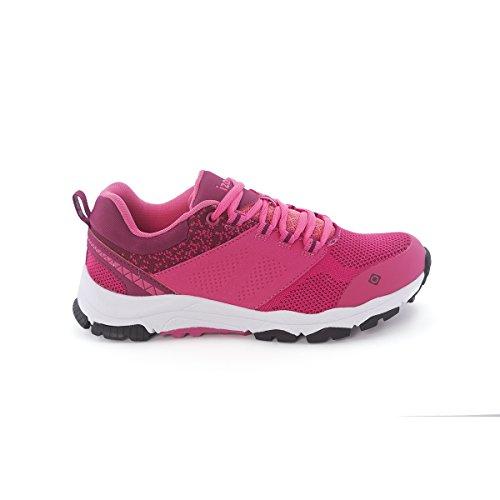 IZAS IUFFO01189FX/BR38 Chaussure de Course Mixte Adulte, Fuchsia/Reed de Betterave, Taille : 38