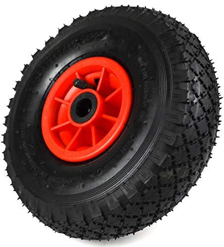 Rueda de carretilla 3.00-4, 260 x 85, rueda de repuesto 1, 2 o 4 neumáticos de aire (1)