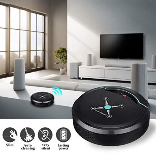 Aspirador automático Inteligente con Robot Aspiradores pequeños...