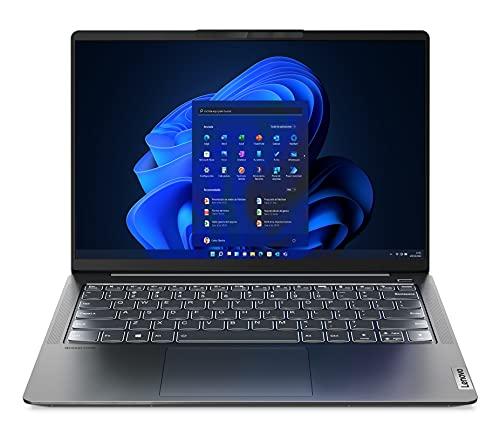 Lenovo IdeaPad 5 Pro Gen 6- Ordenador Portátil 14' 2.2K (Intel Core i7-1165G7, 8GB RAM, 512GB SSD, Intel Iris Xe Graphics, Windows 11 Pro) Gris - Teclado QWERTY Español