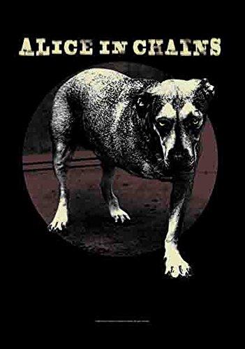 Alice in Chains – Cover – La Musique Grunge Ruban – poster drapeau – 100% Polyester – Taille 75 x 110 cm