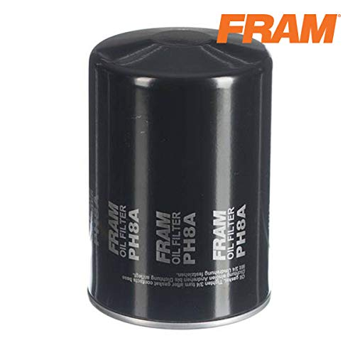 FRAM Extra Guard PH8A, 10K Mile Change Interval Spin-On Oil Filter
