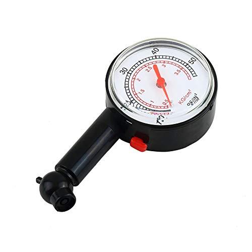 MTSBW Reifendruck-Messgerät, 5 bis 55 Psi Hochpräzisionsmessung, Benzin sparen mit dem richtigen Inflation und halten abgefahrene Reifen, gebraucht für Autos, Motorräder, Fahrräder