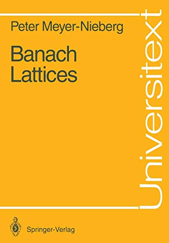 Banach Lattices (Universitext)