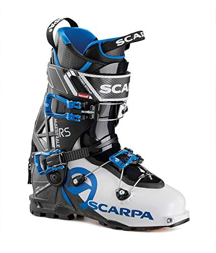 Scarpa M Maestrale RS Blau-Schwarz-Weiß, Herren Touren-Skischuh, Größe EU 46.5 - Farbe White - Black - Blue