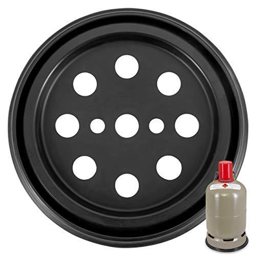 RUBBER PROTECTION WILLI groundprotection Bodenschutzmatte für 5 kg Gasflasche