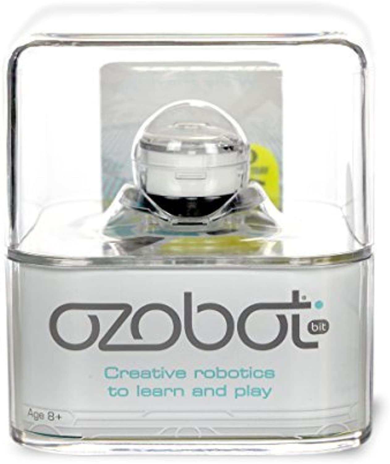 ganancia cero Ozobot 2.0 Bit, the Educational Juguete Robot that Teaches Teaches Teaches STEM and Coding, Crystal blanco by Ozobot  marcas de moda