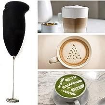 Wazdorf Milk Frother Electric Foam Maker Classic Sleek Design Hand Blender Mixer Froth Whisker Latte Maker for Milk,Coffee,Egg Beater,Juice,Cafe Latte,Espresso,Cappuccino,Lassi,Salad(Milk frother)