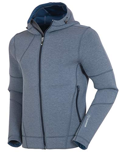 New Sunice Austin Men's Jacket – Softshell Zip Up Hoodie with Thermal Insulation