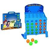 Acción 4 en Fila, Juego Infantil de Ritmo rápido, Azul niños
