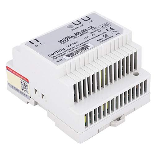 Alimentazione su binario DIN, sorgenti di segnale di raffreddamento automatico monofase, potenza di uscita 60 (W) uscita 12 V per illuminazione LED Instrument Textile Industrial Control(DR-60-12)